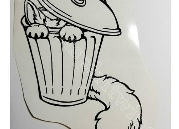 Trash Fur Vinyl Decal