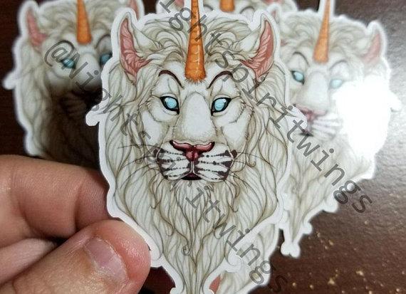 Spirit Lion Sticker