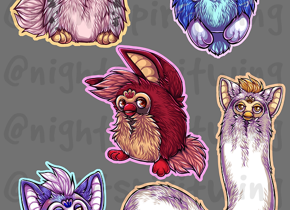 Furby Stickers