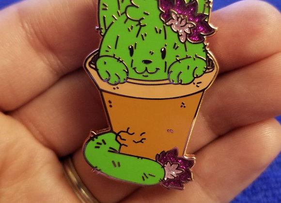 Cactus Cat Pin
