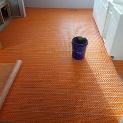 Ditra heat floors Eagle Id