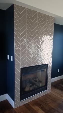 Chevron Pattern custom install Boise