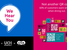 "Ten weeks in - Not another QR code - ""We Hear You"" survey findings"