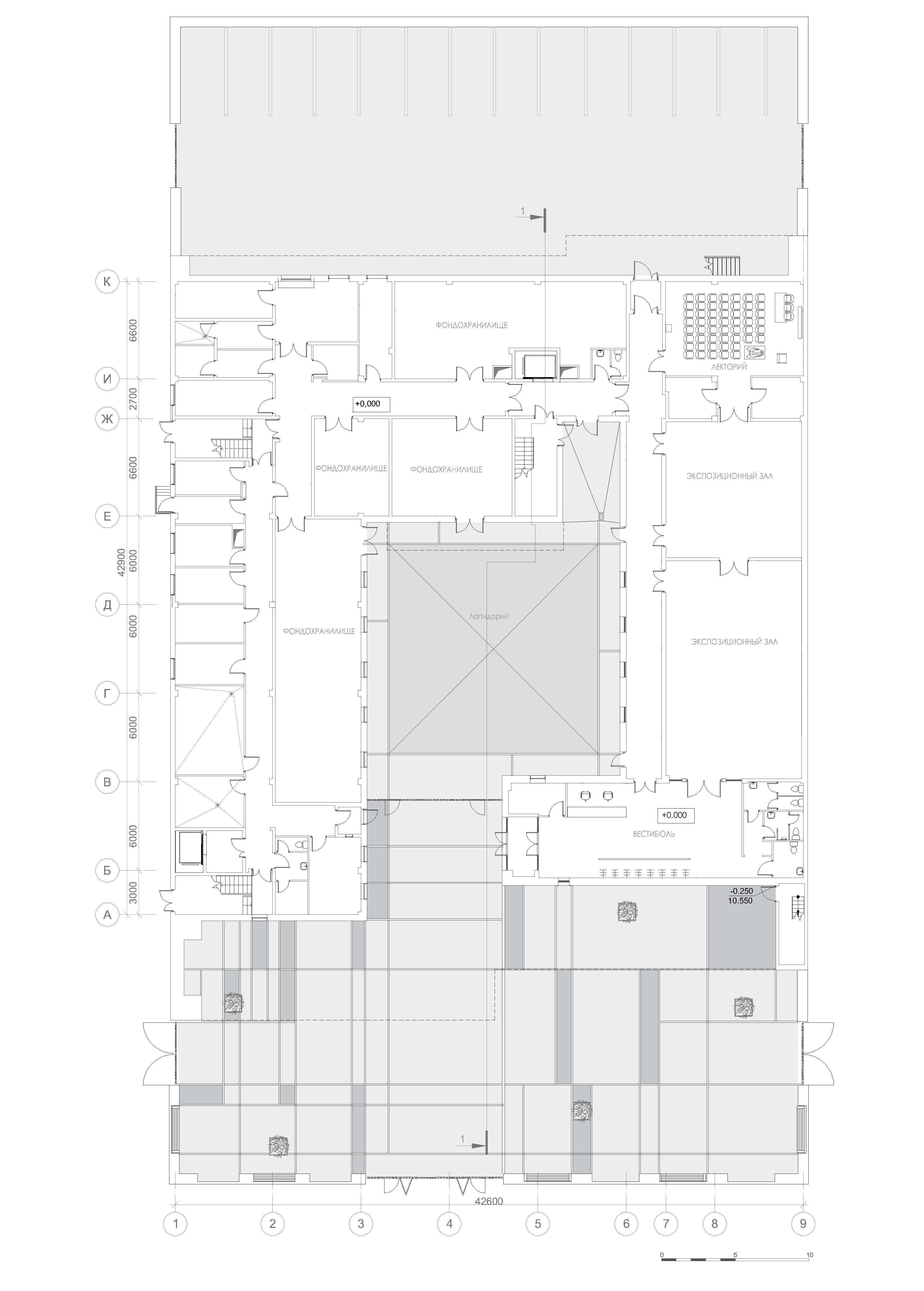 Фондохранилище Государственного историко-археологического музея-заповедника «Херсонес Таврический»