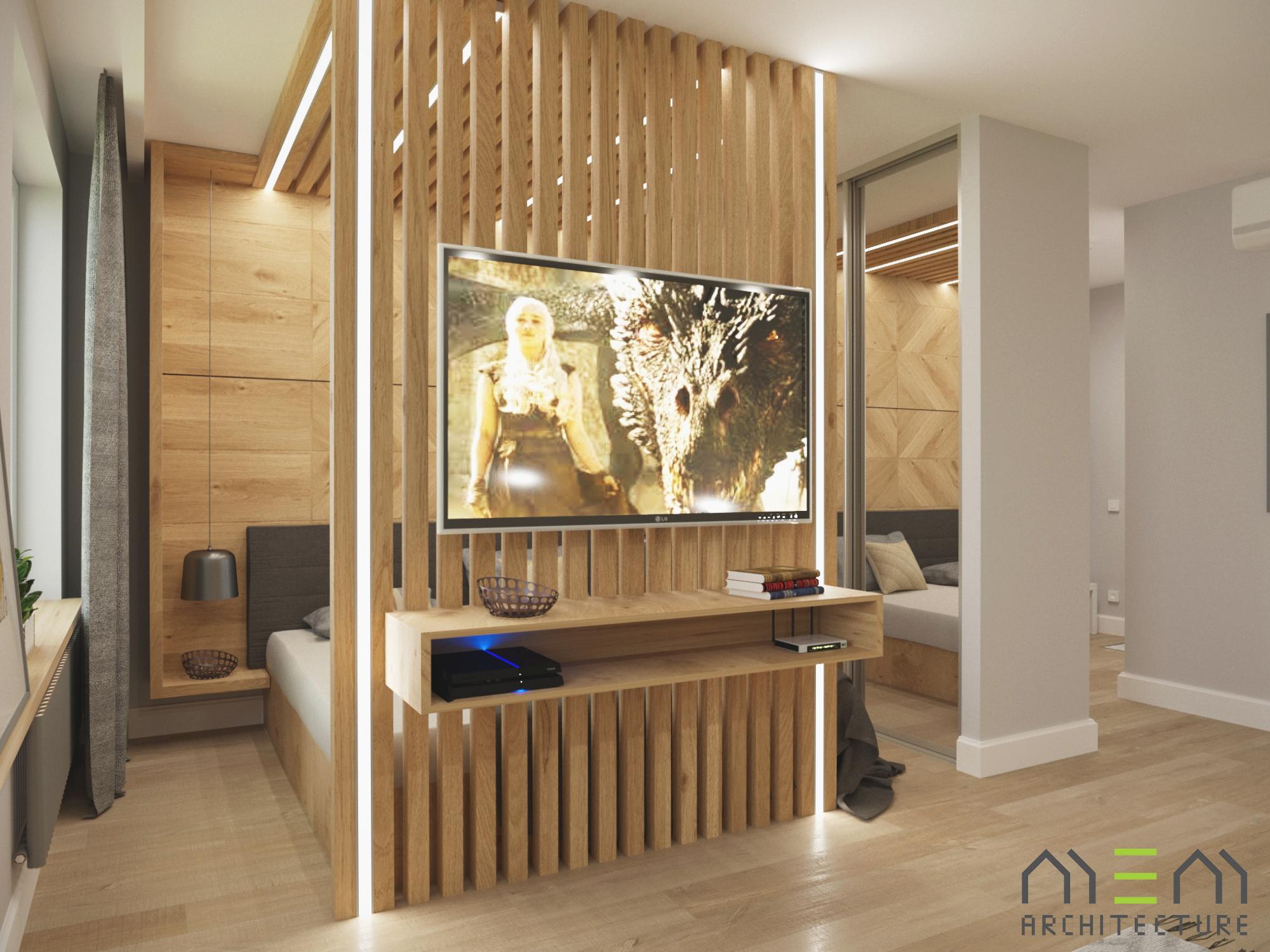 Дизайн-проект квартиры 41м2 в поселке Коммунарка