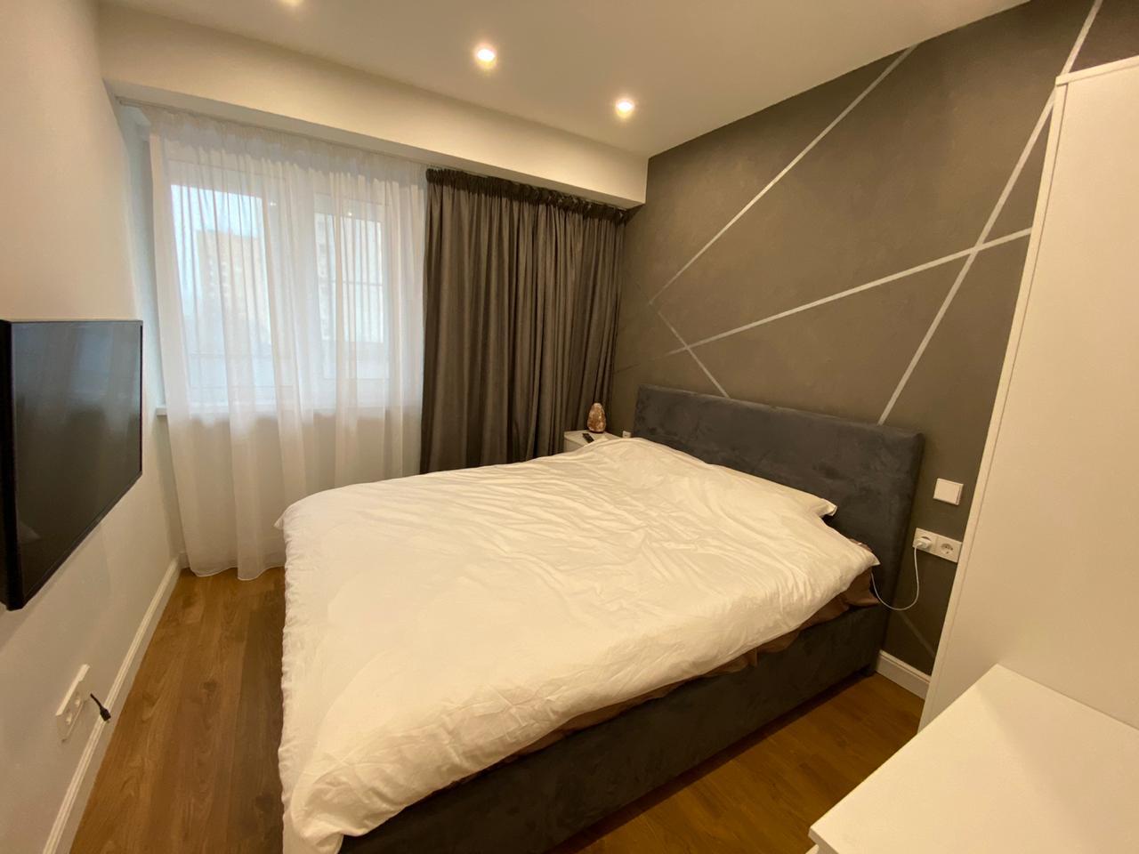 Реализация   -   Дизайн-проект квартиры для молодого человека в районе в Москве