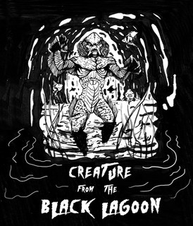 Creatue from the Black Lagoon
