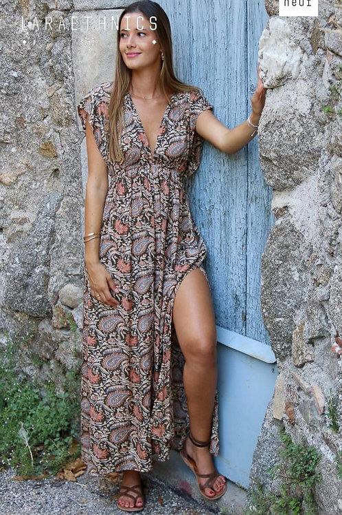 Robe Longue Lara Ethnics Modèle Thylane