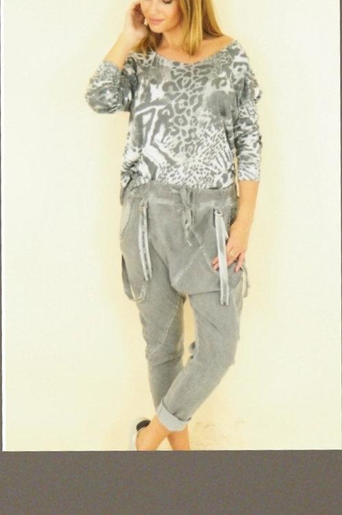 Pantalon Boy-friend 2000'S Vibes