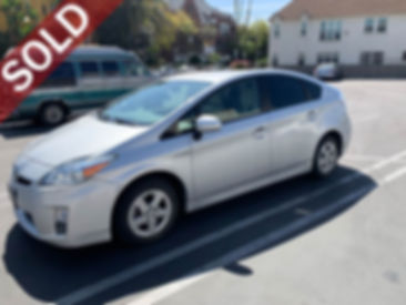 Sell My Used Toyota Prius Near Me