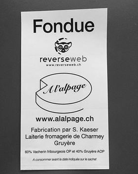 A L'ALPAGE | Set fondue à l'Alpage