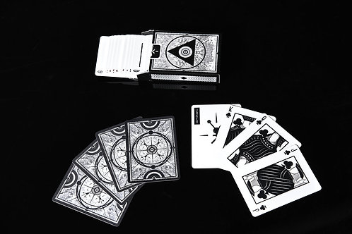 100% plastic Official Playing Cards by Erik Kirchner