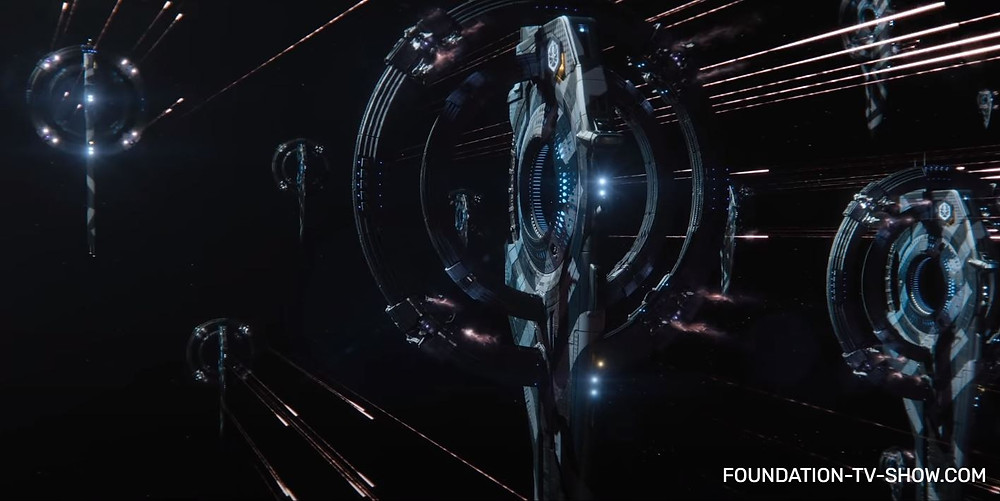 Foundation | Epic battles in space and on the ground like Star Wars, political and power conflicts like Game Of Thrones