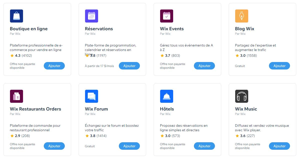 Formation Applications Wix | Reverseweb