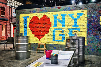 Photos du stand New York au salon du livre 2018 pour Happy City Lab