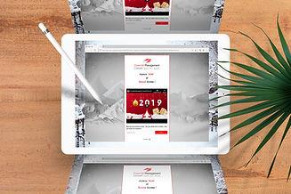 Carte de vœux digitale 2019 pour EMC