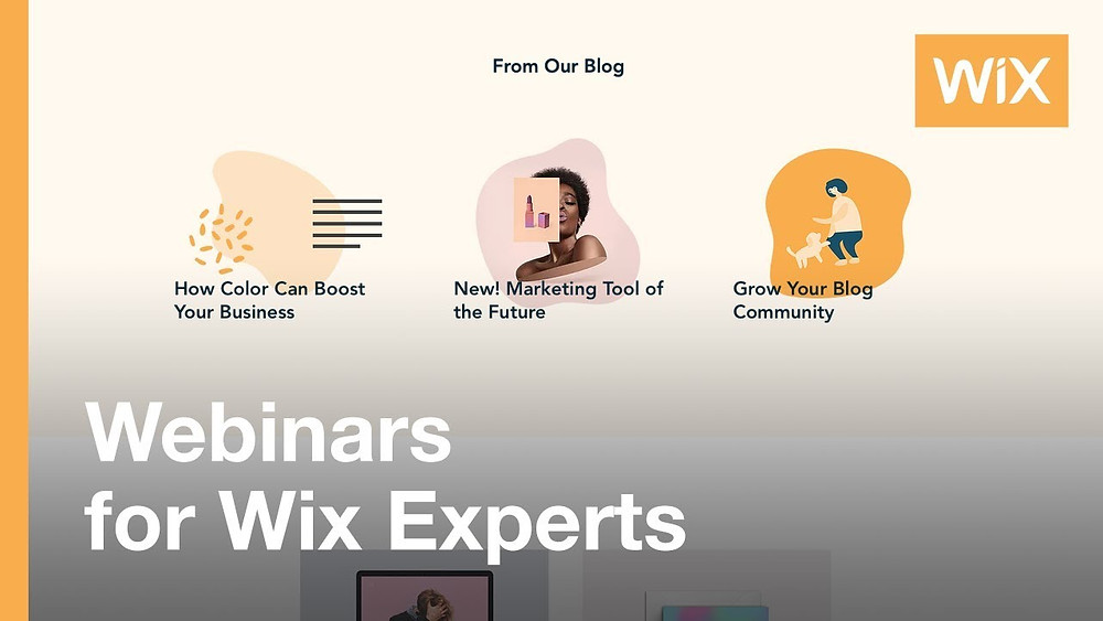 Webinar de Wix : Boost Your Business with the Wix Blog