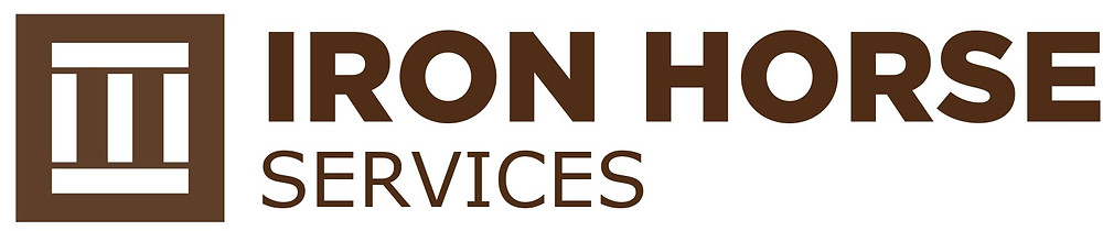 Logo for Iron Horse Services, Rail Car Cleaning, Mainteancne, and Transloading