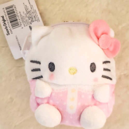 Hello Kitty Plush Mini Coin Purse