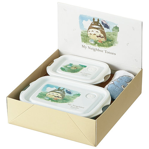 Totoro Food Container Gift Set