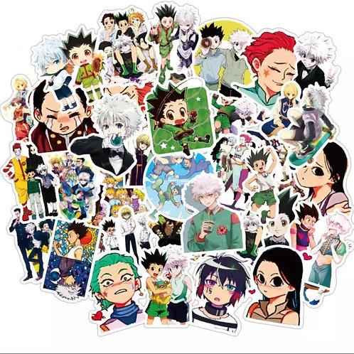Hunter x Hunter 50pcs sticker