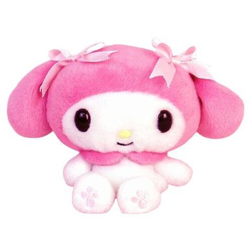 My Melody Fuwakuta plush