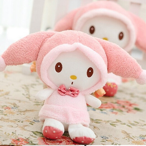 My Melody pink hat plushie