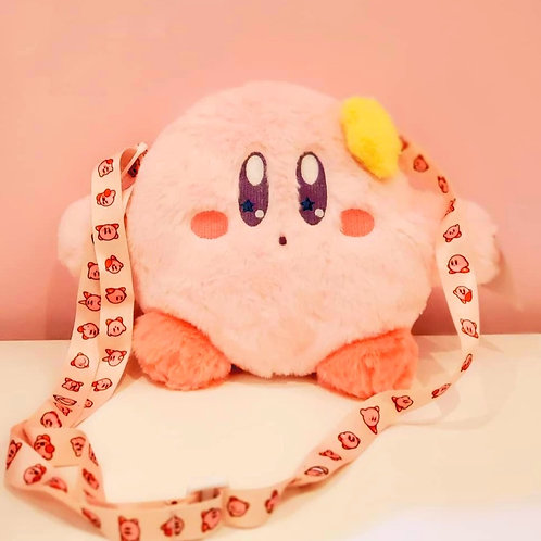 Kirby Fluffy Purse with strap