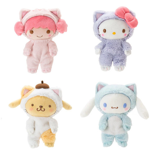 Sanrio character soft plushies