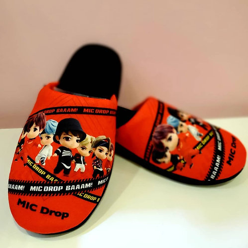 BTS x Tinytan MIC Drop slippers