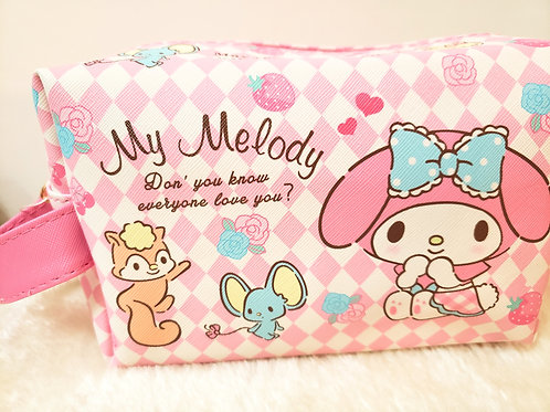 My Melody cosmetic bag