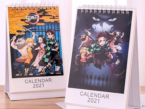 Demon Slayer 2021 Calendar