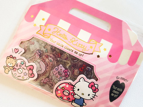Hello Kitty glittery stickers