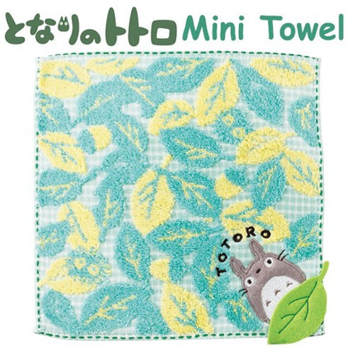 Totoro mini towel