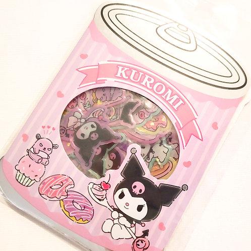 Kuromi Sticker Flakes