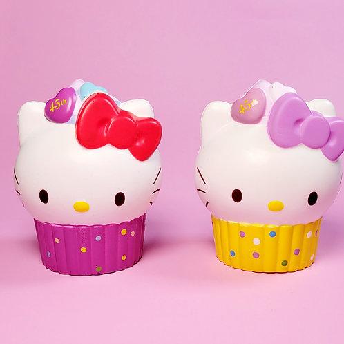 Hello Kitty 45th Anniversary Cupcake Squishy