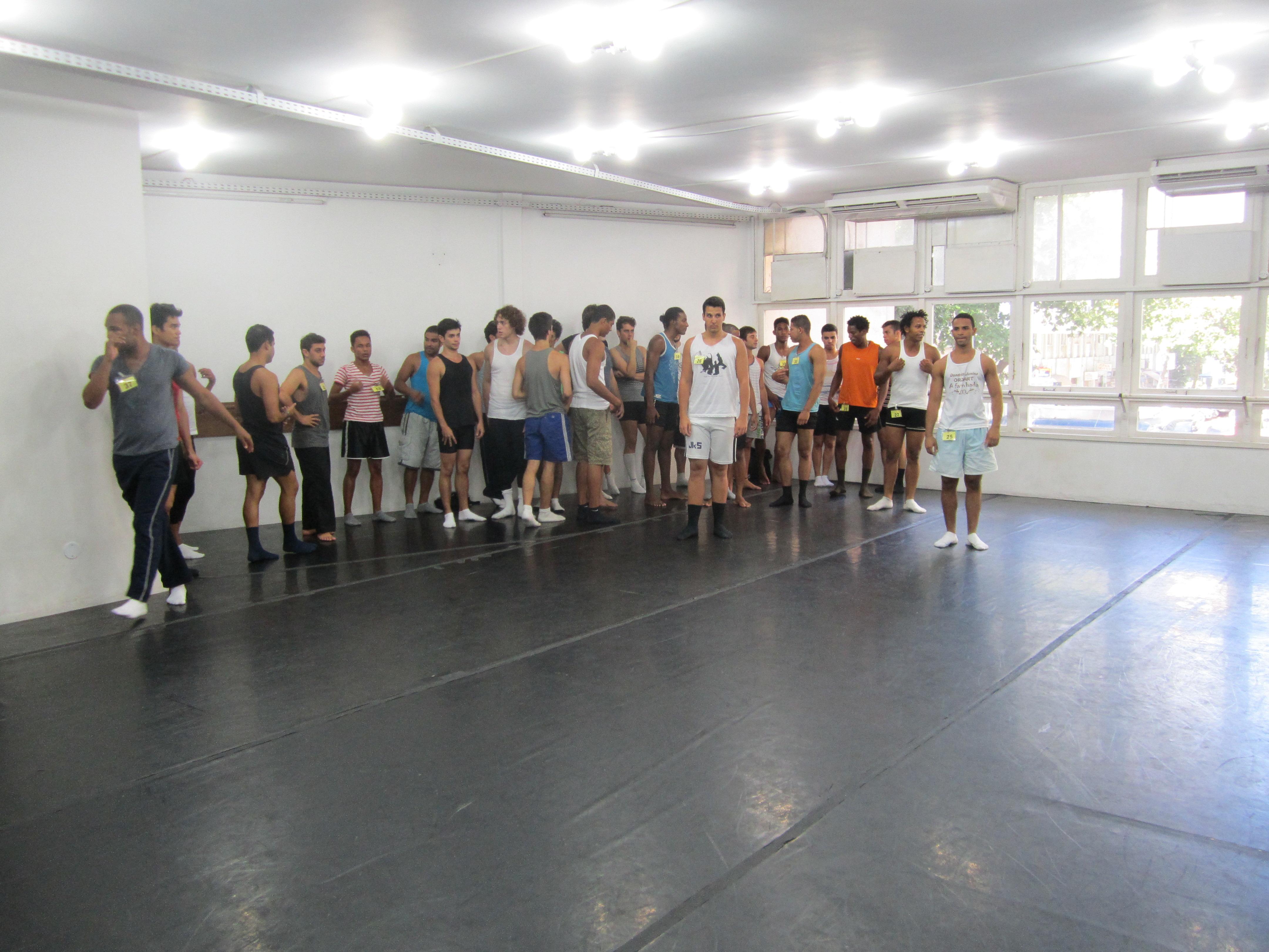 Projeto Homens na Dança