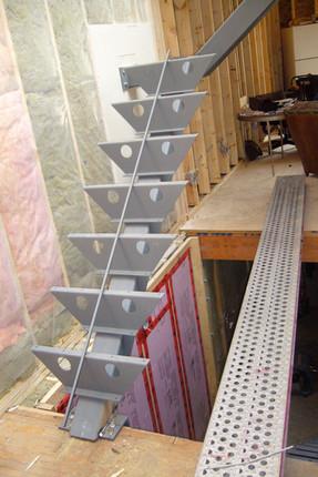 CUSTOM STEEL STAIR