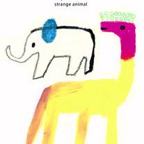 Elephant and strange animal