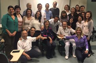 Aula de BDORT ministrada na Faculdade de Odontologia da USP
