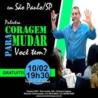 Organizando Palestra e Constelação Sistêmica do Dr. Fernando de Freitas