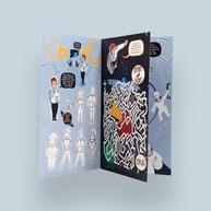 Intergalactic Voyage Activity Book/zine