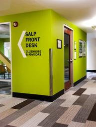SALP Wayfinding & Branding