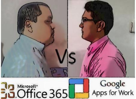 Gsuite Vs Office 365 ¿quien gana la batalla?