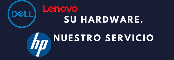 Marcas de Hardware (Dell, Hewlett-Packard, Lenovo)