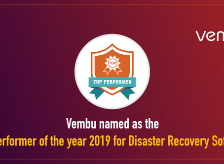 Vembu nombrado como el Top Performer de 2019 por FeaturedCustomers