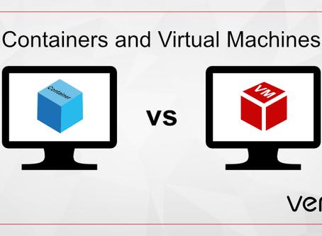 La analogía de los contenedores y las máquinas virtuales