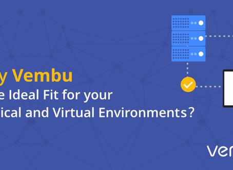 Conozca por qué Vembu es el producto ideal para su entorno de TI