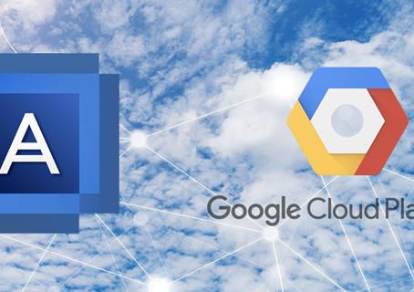 Acronis se asocia con Google Cloud y refuerza su posición de liderazgo en protección de datos en la