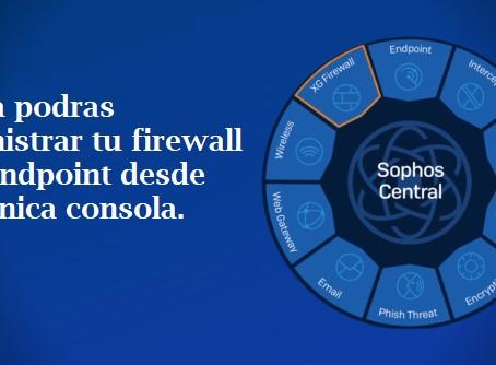 XG Firewall se une con Sophos Central